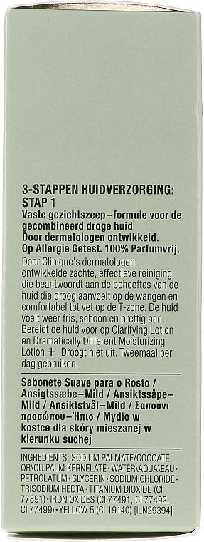 Săpun pentru față - Clinique Facial Soap Mild — Imagine N2