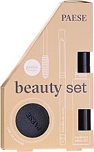 Parfumuri și produse cosmetice Set - Paese (mascara/13ml + eyeliner/0.31g + eyeshadow/3g)