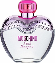 Parfumuri și produse cosmetice Moschino Pink Bouquet - Apă de toaletă (tester cu capac)