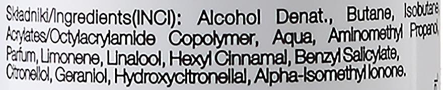 Lac fixatic cu fixare forte - Delia Cosmetics Cameleo Hair Spray — Imagine N3