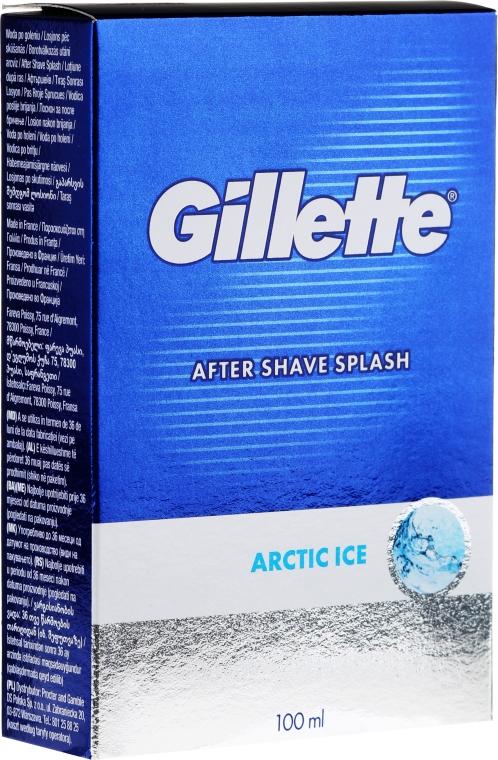 Loțiune după ras - Gillette Series Arctic Ice After Shave Splash Bold — Imagine N1