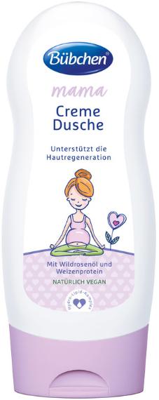 """Cremă-gel de duș femeile însărcinate și care alăptează """"Mama"""" - Bubchen — Imagine N1"""