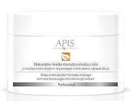 Parfumuri și produse cosmetice Ulei de corp - APIS Professional Orange TerApis Natural Shea Butter