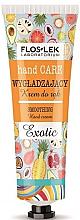 Parfumuri și produse cosmetice Cremă matifiantă pentru mâini - Floslek Hand Care Smoothing Cream Exotic