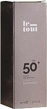 Parfumuri și produse cosmetice Cremă cu protecție solară pentru față SPF 50 - Le Tout Facial Sun Protect