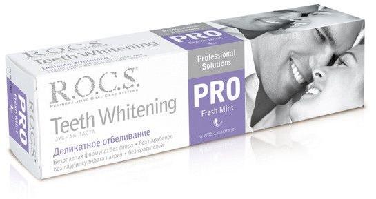 Pastă de dinți - R.O.C.S. PRO Fresh Mint — Imagine N1