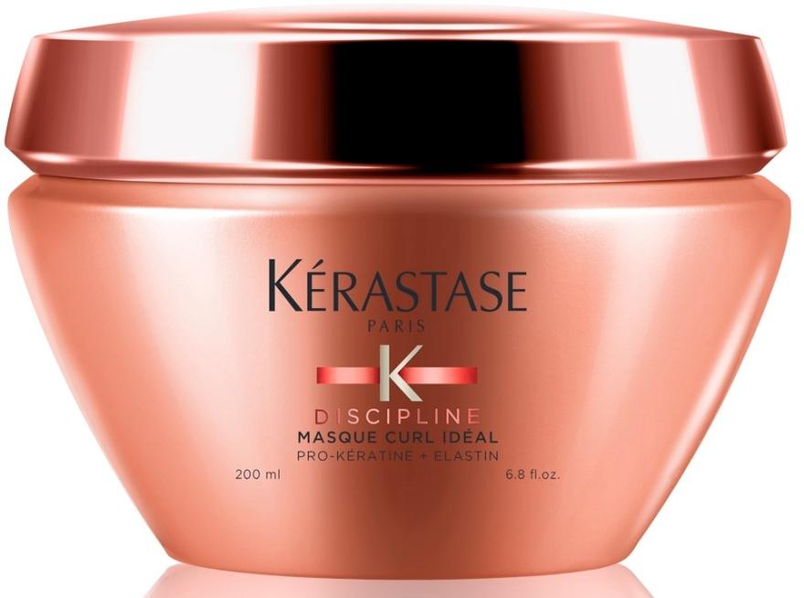 Mască pentru părul creț și neascultător - Kerastase Discipline Curl Ideal Masque — Imagine N1