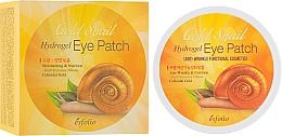 Parfumuri și produse cosmetice Patch-uri hidrogel cu mucină de melc - Esfolio Gold Snail Hydrogel Eye Patch