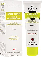 Parfumuri și produse cosmetice Peeling enzimatic pentru ten problematic - Floslek Anti Acne Peeling