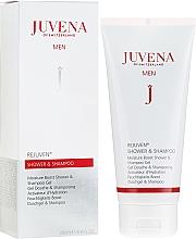 Parfumuri și produse cosmetice Gel-șampon de duș - Juvena Rejuven Men Moisture Boost Shower & Shampoo Gel