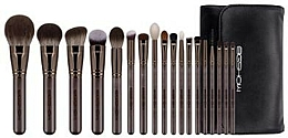 Parfumuri și produse cosmetice Set pensule de machiaj - Eigshow Beauty Magician Brush Kit Lucky Coffee