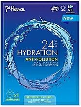 Parfumuri și produse cosmetice Mască din țesătură pentru față - 7th Heaven 24H Hydration Anti-Pollution Mask