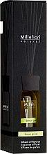 """Parfumuri și produse cosmetice Difuzor Aromatic """"Lemongrass"""" - Millefiori Milano Natural Lemon Grass"""