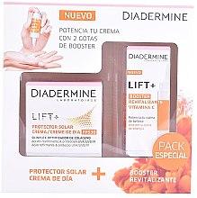 Parfumuri și produse cosmetice Set - Diadermine Lift + Booster Vitamina C Set (cr/50ml+booster/15ml)