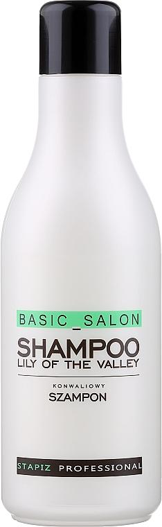 """Șampon """"Lăcrămioară"""" - Stapiz Basic Salon Shampoo Lily Of The Valley"""
