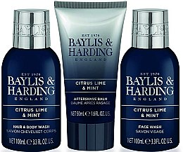 Set - Baylis & Harding Citrus Lime & Mint (b/wash/100ml + a/s/balm/50ml + wash/100ml) — Imagine N3