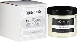 """Parfumuri și produse cosmetice Lumânare aromatică """"Împotriva țânțarilor"""" - Eco Life Candles"""