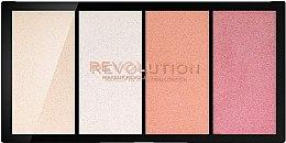 Parfumuri și produse cosmetice Paletă de nuanțe. Iluminator. - Makeup Revolution Re-Loaded