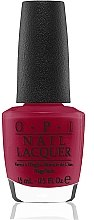 Parfumuri și produse cosmetice Lac de unghii - O.P.I Nail Lacquer Gwen Stefani Holiday 2014 Collection