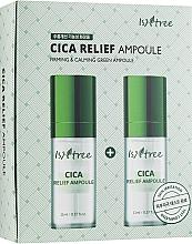 Parfumuri și produse cosmetice Fiolă regenerantă pentru față - IsNtree Cica Relief Ampoule
