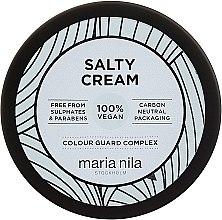 Parfumuri și produse cosmetice Cremă pentru păr, fixare slabă - Maria Nila Salty Cream