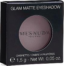 Parfumuri și produse cosmetice Farduri de pleoape - Mesauda Milano Glam Matte Eye Shadow