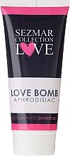 Parfumuri și produse cosmetice Gel pentru igiena intimă - Sezmar Collection Love Aphrodisiac Shower Gel Love Bomb