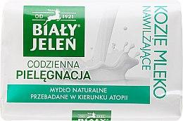 Parfumuri și produse cosmetice Săpun hipoalergenic cu lapte de capră - Bialy Jelen Hypoallergenic Soap With Goat Milk