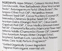 Balsam cu extract de floarea-soarelui, mușețel și unt de shea pentru păr - Bentley Organic Conditioner — Imagine N3