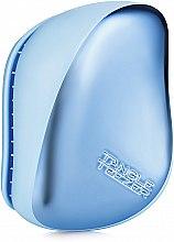 Parfumuri și produse cosmetice Perie de păr - Tangle Teezer Compact Styler Sky Blue Delight Chrome
