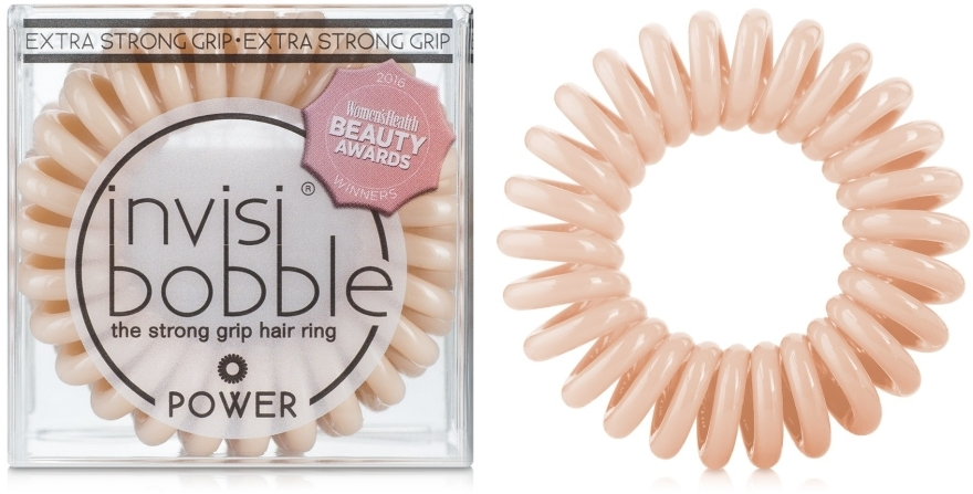 Elastic de păr - Invisibobble Power To Be Or Nude To Be