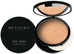 Parfumuri și produse cosmetice Cremă-pudră pentru față - Mesauda Milano 2ND Skin Foundation