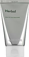 Parfumuri și produse cosmetice Peeling-mască cu efect calmant și detoxifiant - Medi Peel Herbal Peel Tox
