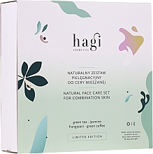 Parfumuri și produse cosmetice Set - Hagi Natural Face Care Set (cr/30ml + ser/30ml)