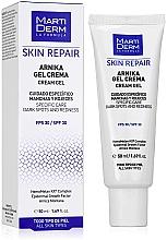 Parfumuri și produse cosmetice Cremă-gel de față - MartiDerm Skin Repair Arnika Cream Gel SPF 30