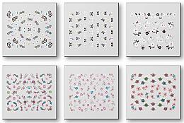 Parfumuri și produse cosmetice Abțibilduri pentru unghii 42959 - Top Choice Nail Decorations Stickers Set
