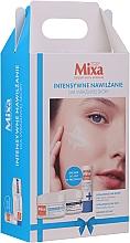 Parfumuri și produse cosmetice Set - Mixa Hyalurogel Gift Set (cr/50ml + cr/50ml + lip/balm/4.7ml)