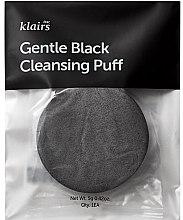 Parfumuri și produse cosmetice Burete pentru curățarea feței - Klairs Gentle Black Cleansing Puff