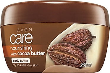 Cremă Unt de corp cu ulei de cacao - Avon Care Nourishing With Cacao Butter — Imagine N1