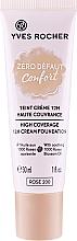 """Parfumuri și produse cosmetice Fond de ten """"Confort. Zero imperfecțiuni"""" - Yves Rocher Zero Defaut Comfort 12h Cream Foundation"""
