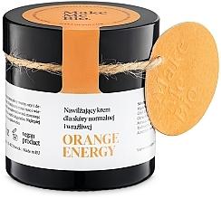 Parfumuri și produse cosmetice Cremă hidratantă pentru piele normală și sensibilă - Make Me BIO Orange Energy