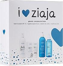 Parfumuri și produse cosmetice Set - Ziaja GdanSkin (cr/50ml + spray/200ml + balm/300ml + soap/300ml)