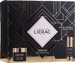 Parfumuri și produse cosmetice Set - Lierac Premium Soyeuse (eye/cr/15ml + cr/50ml + bag)