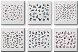Parfumuri și produse cosmetice Abțibilduri pentru unghii 42942 - Top Choice Nail Decorations Stickers Set