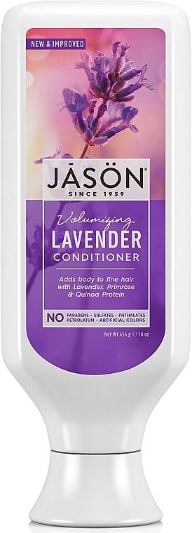 "Balsam pentru păr cu extract de ""Lavandă"" - Jason Natural Cosmetics Lavender Hair Strengthening Conditioner — Imagine N1"