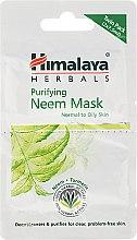 Parfumuri și produse cosmetice Mască antibacteriană pentru față - Himalaya Herbals Neem Face Pack (mostră)