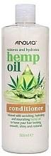 Parfumuri și produse cosmetice Balsam cu ulei de cânepă pentru păr - Anovia Hemp Oil Conditioner Restores and Hydrates