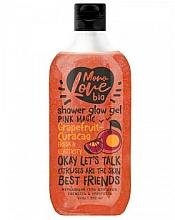 """Parfumuri și produse cosmetice Gel de duș """"Prospețime și fermitate"""" - MonoLove Bio Grapefruit-Curacao Shower Glow Gel"""