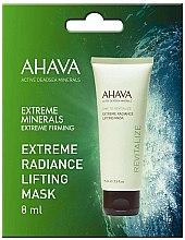 Parfumuri și produse cosmetice Mască de față - Ahava Time To Revitalize Extreme Radiance Lifting Mask (mostră)