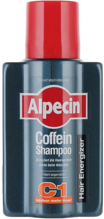 Șampon pe bază de cofeină împotriva căderii părului - Alpecin C1 Caffeine Shampoo — Imagine N3